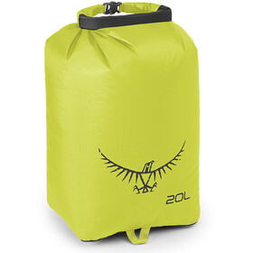 Osprey Ultralight Drysack 20l electric lime
